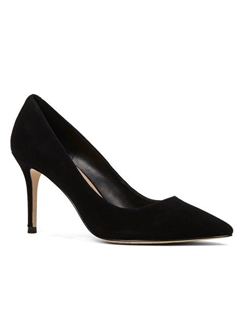 Aldo Süet Stiletto Ayakkabı Siyah